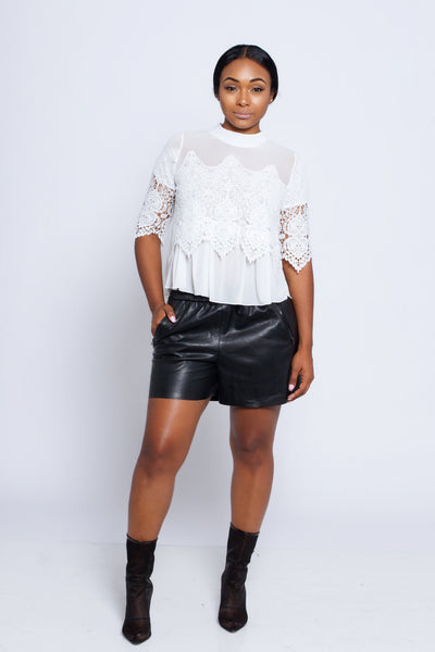 Martha Lace Blouse