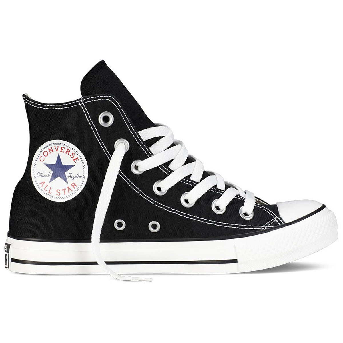 e7f8640f3b32 Converse Unisex Chuck Taylor All Star High‑Top Sneakers Optic Black