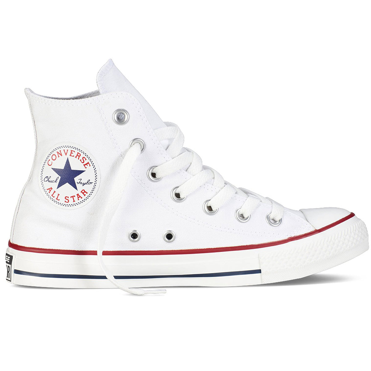 9afc6ffe4ccd Converse Unisex Chuck Taylor All Star High‑Top Sneakers Optical White