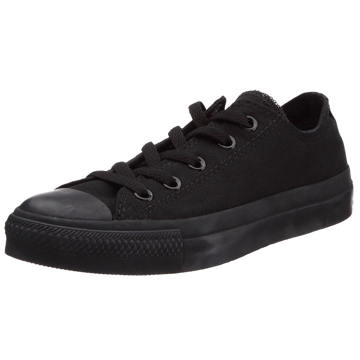 5ded8351f9a9 Converse Unisex Chuck Taylor All Star Sneakers Mono Black – ValueMaxx
