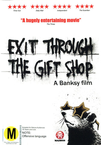 Exit Through the Gift Shop - A Banksy Film - DVD
