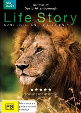 BBC Earth: Life Story narrated by Sir David Attenborough - DVD