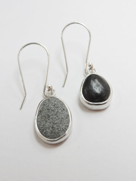South Westland Beach Pebble Earrings