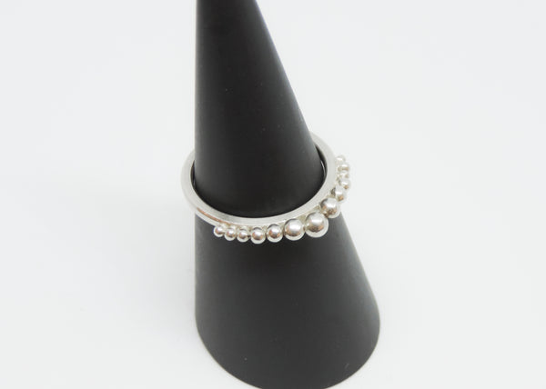 Small Bobble Stack Ring