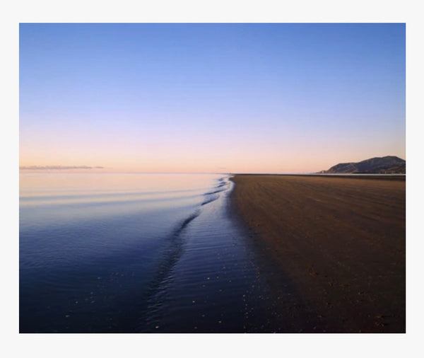Sunset Tahunanui Beach I Greeting Card
