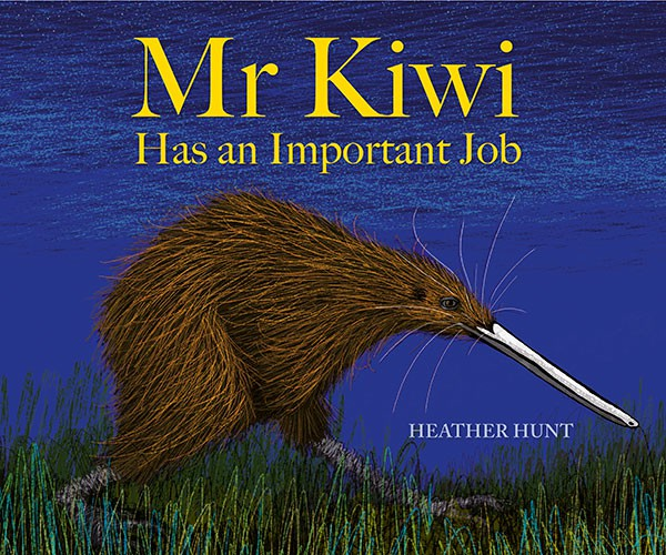 Mr Kiwi has an Important Job