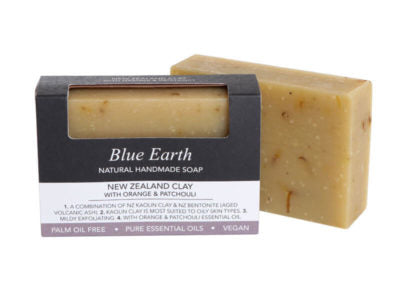 New Zealand Clay with Orange & Patchouli - single bar