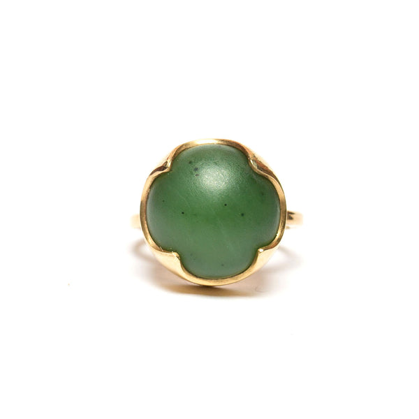 Gold Vermeil and Pounamu Revolution Ring