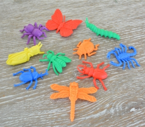 Brightly Coloured Insects - Soft and Flexible