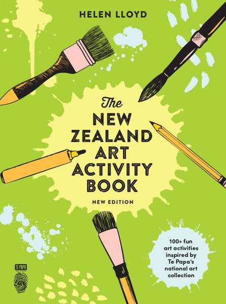 The New Zealand Art Activity Book (New Edition)