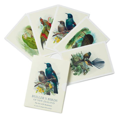 Buller's Birds of New Zealand Boxed Notecards