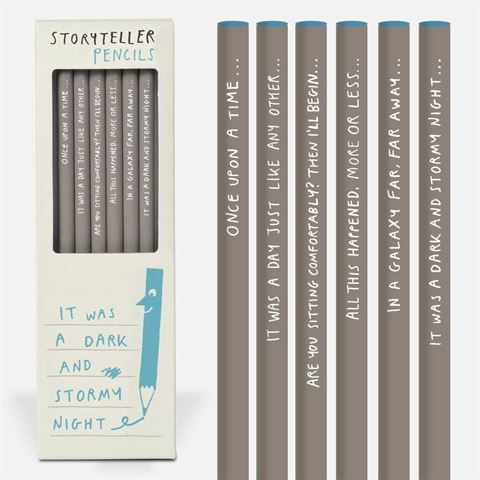 Storyteller 6 Pkt Boxed Pencils