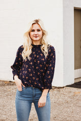 The Rebekah Floral Top