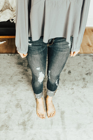 The Olea Cuffed Jeans