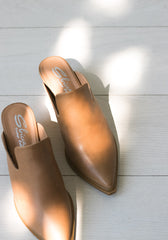 The Monteray Mules in Tan