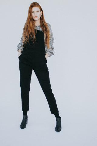 The Palomino Overalls in Black