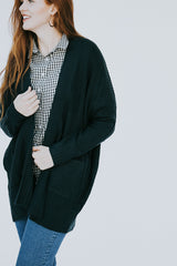 The Enchanted Cardigan in Teal