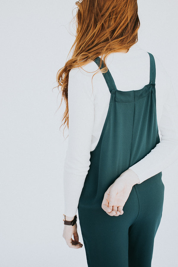 The Autumn Jumper in Teal