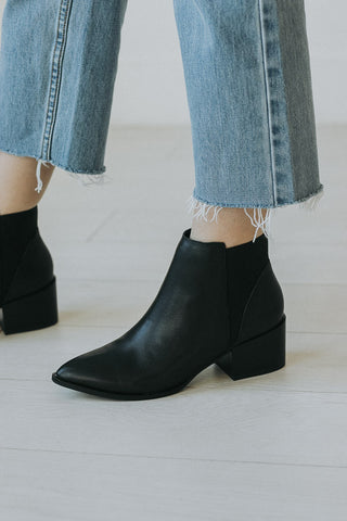 Chinese Laundry: The Finn Bootie in Black