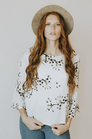 The Fall Blossom Top