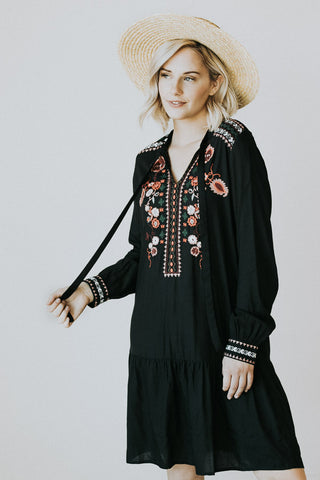 The Lillian Embroidered Dress