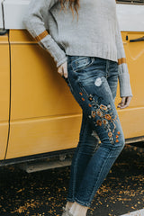The Nutmeg Embroidered Jeans