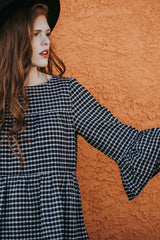 The Torrence Flannel Dress