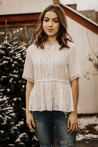 The Adaline Lace Top