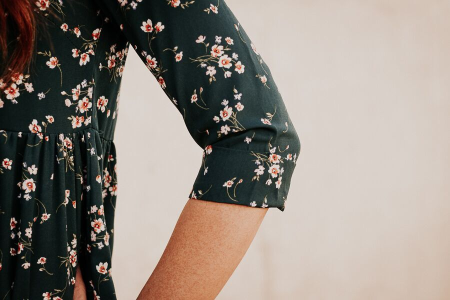 The Dainty Floral Dress