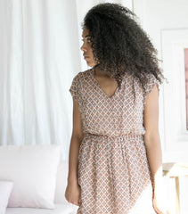 The Esther Dress in Nude
