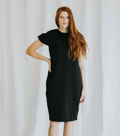 The Maryann Dress in Black