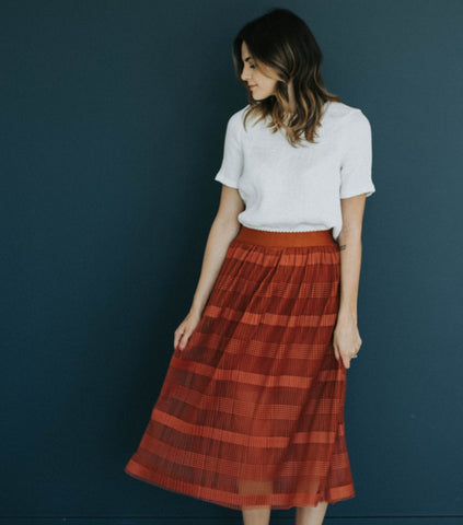 The Royal Rust Skirt