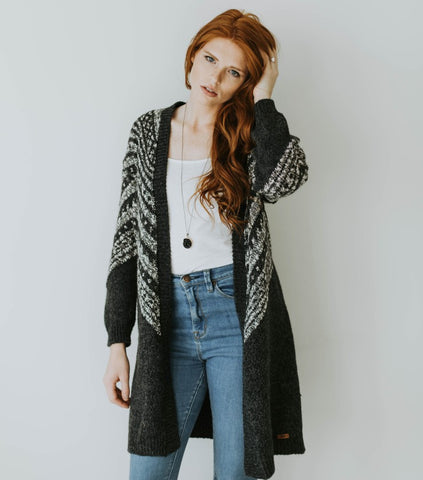 The Snowflake Cardigan