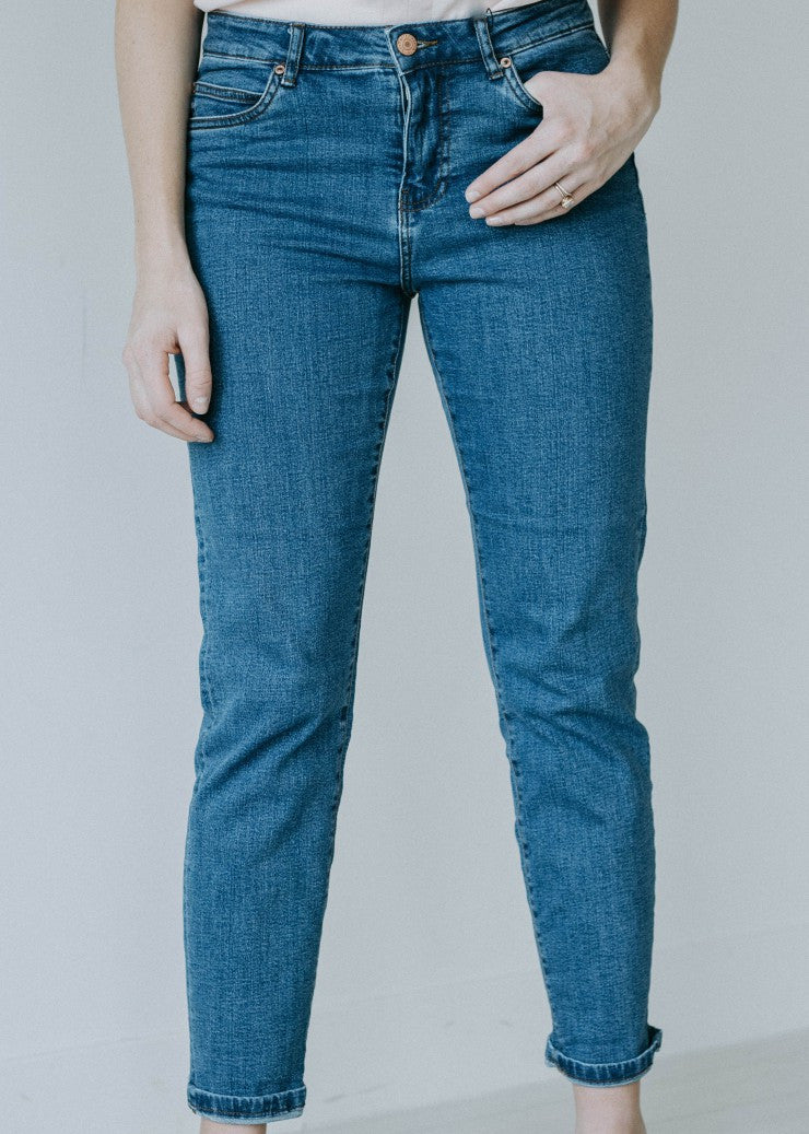 The Vintage High Rise Jeans