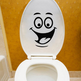 Funny DIY Toilet Bathroom Decal Seat Decor - marketplacefinds  - 2