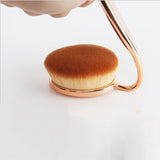 10 Pcs Toothbrush Makeup Brushes - Gold - marketplacefinds  - 5