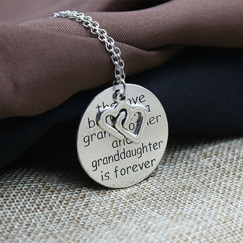 Necklace & Pendant - Grandmother & Granddaughter Love - marketplacefinds  - 1