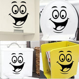 Funny DIY Toilet Bathroom Decal Seat Decor - marketplacefinds  - 3