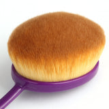10 Pcs Toothbrush Makeup Brushes - Purple - marketplacefinds  - 3