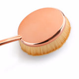 10 Pcs Oval Rose Gold Makeup Brushes - marketplacefinds  - 2