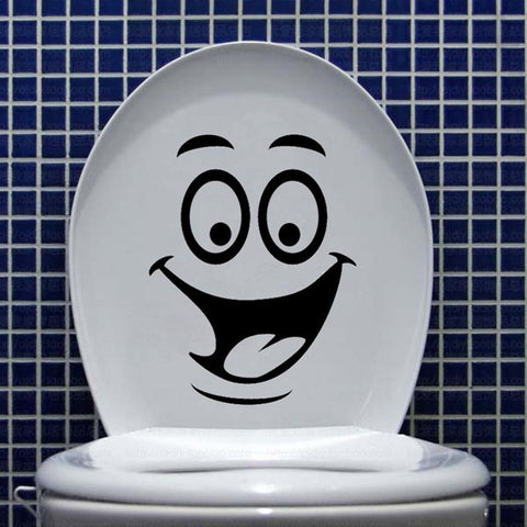 Funny DIY Toilet Bathroom Decal Seat Decor - marketplacefinds  - 1