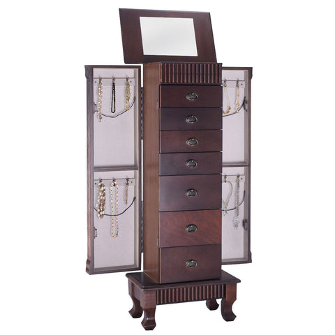 Jewelry Cabinet Armoire Box