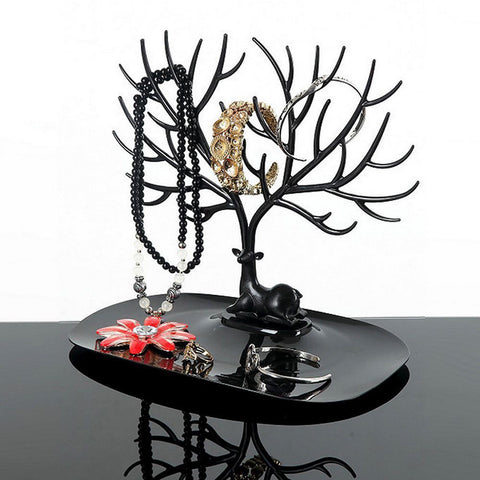 Jewelry Deer Tree Stand Display