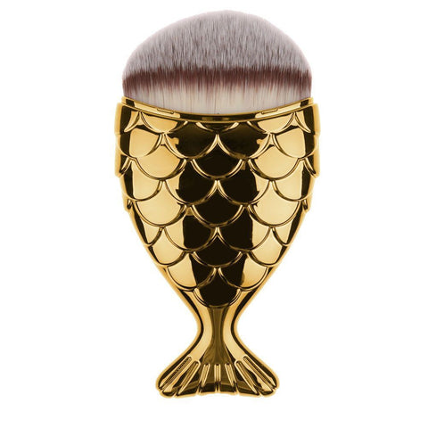 Mermaid Tail Foundation Makeup Brush