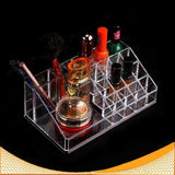 Women's Makeup Clear Acrylic Cosmetics Organizer  4 Drawers Display Box Storage - marketplacefinds  - 3