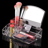 Women's Acrylic Makeup Cosmetics Clear Holder  Multifunctional Jewelry Organizer - marketplacefinds  - 1