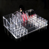 Cosmetics Organizer Women Ladies Practical  Makeup Cosmetic Clear Display Collection Storage Box - marketplacefinds  - 1
