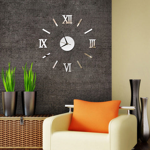 3D DIY Quartz Wall Clock