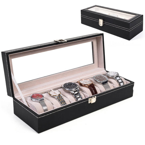 Watch Box Display Case Organizer