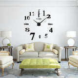 3D DIY Large Wall Clock - marketplacefinds  - 3
